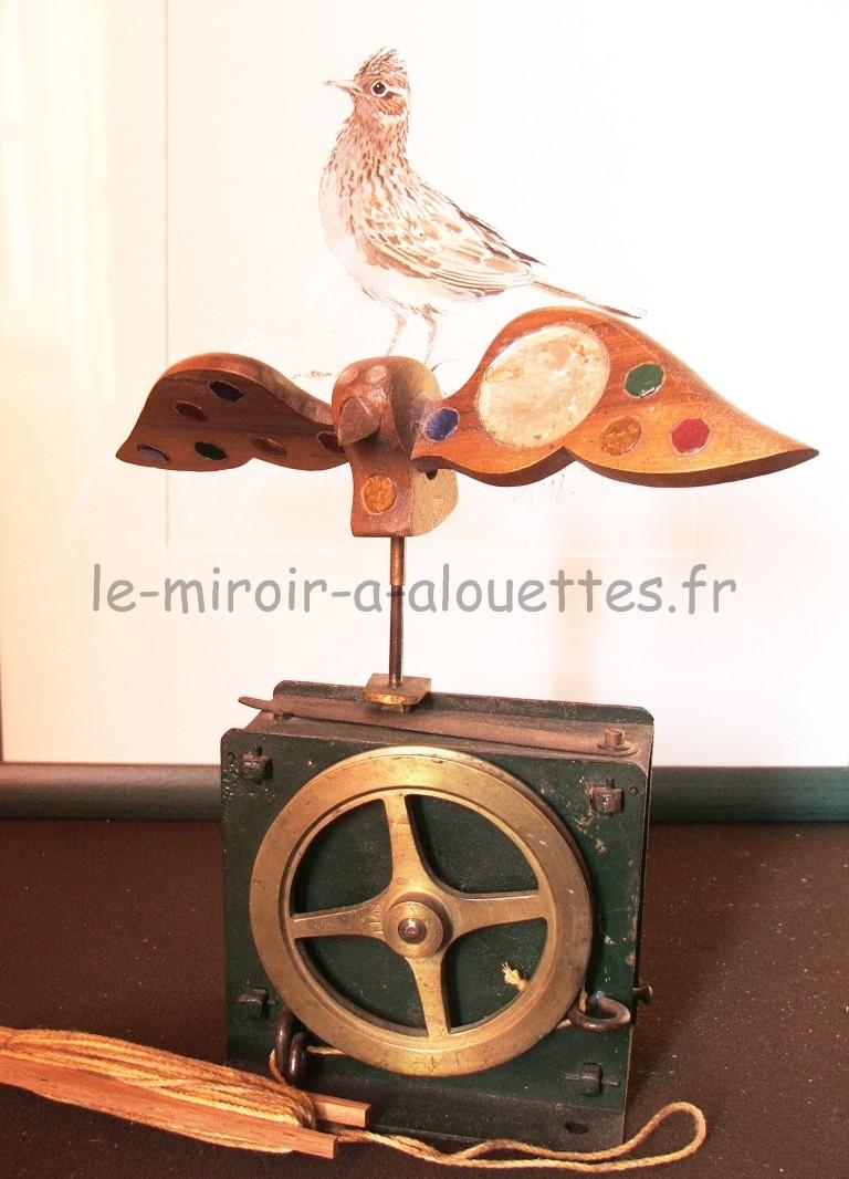 2 medium le miroir alouettes for Miroir au alouette