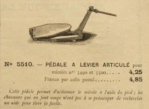 7 Pedale à levier articulé cat.VERNEY CARON 300x219 - 1895     VERNEY - CARRON