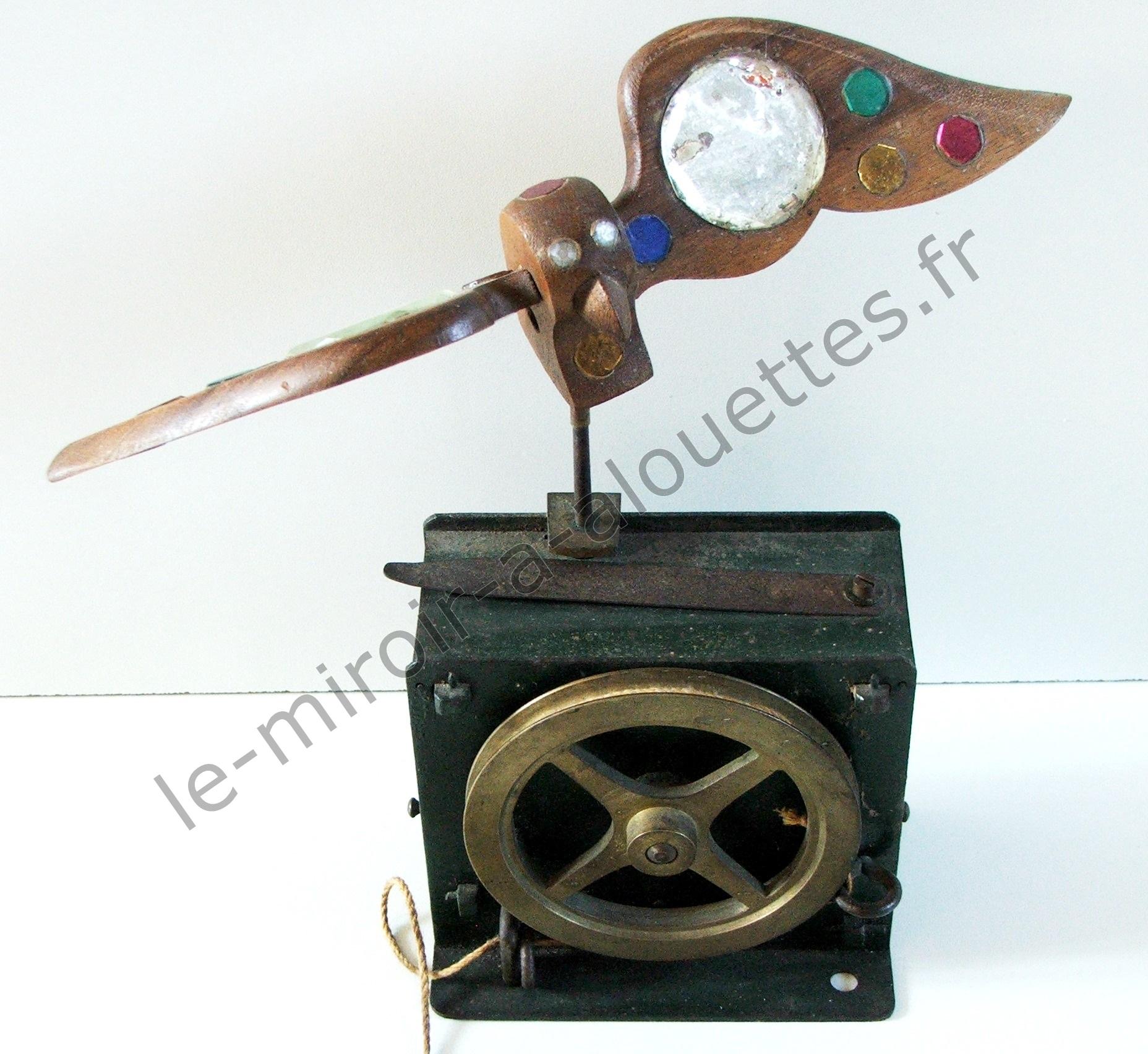 1900 manufacture fran aise le miroir alouettes for Miroir au alouette