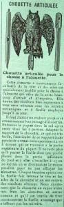 Chouette Articulée Cat. 93x300 - 1902  Manufacture Française d'Armes et de Cycles