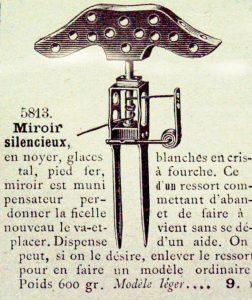 """3 Gravure Cata.le Silencieux 1911 252x300 - 1911 Miroir """"Silencieux"""""""