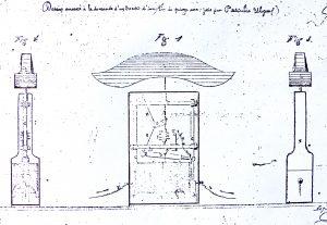 DESSIN du MIROIR PASCALIS 1866 300x207 - Pascalis