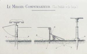 Le miroir Compensateur Blandin avec Siège et Pédale 300x187 - 1900 Pedale et siege