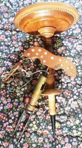 Miroir Blandin avec son Siège 167x300 - 1900 Blandin