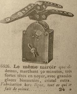 Miroir Mecanique a Tres FortesTetes 246x300 - Miroir Mécanique à Très Fortes Têtes de 1999.