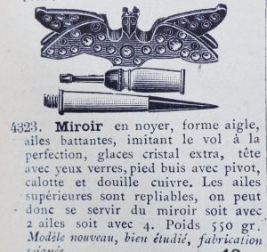 Mi.Forme Aigle Ailes Battantes 1909.1913 2 Moyen 300x283 - 1909 Manufrance