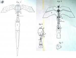 Plans Miroir .BOTTONI 300x228 - MIROIR Ercole BOTTONI
